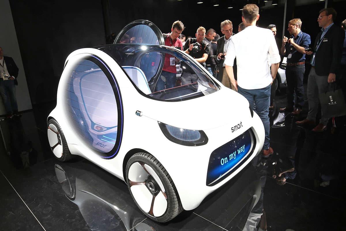 Frankfurt show The Car Expert Smart