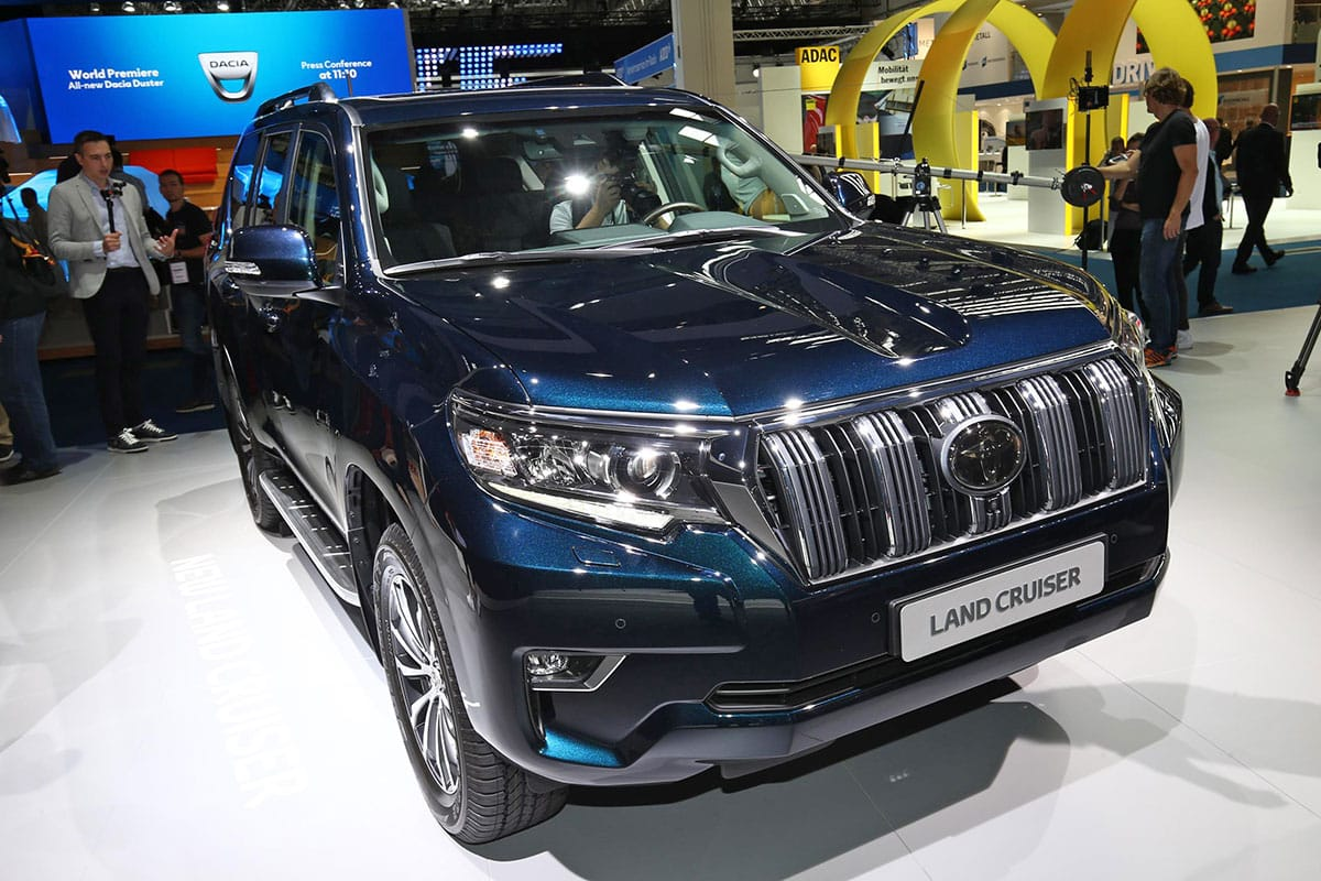 Toyota introduced the Land Cruiser Prado SUV