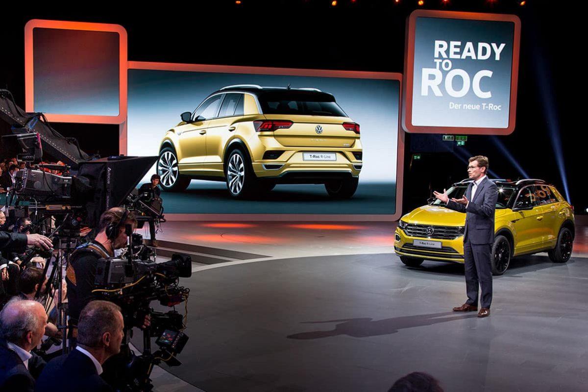 Volkswagen T-Roc Frankfurt The Car Expert