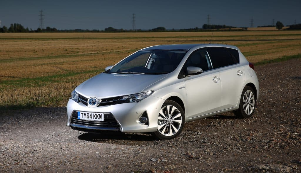 Toyota Auris (top ten safest used cars 2017)