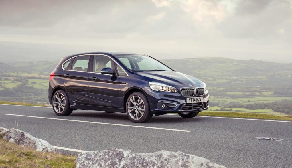 BMW 2 Series Active Tourer (top ten safest used cars 2017)
