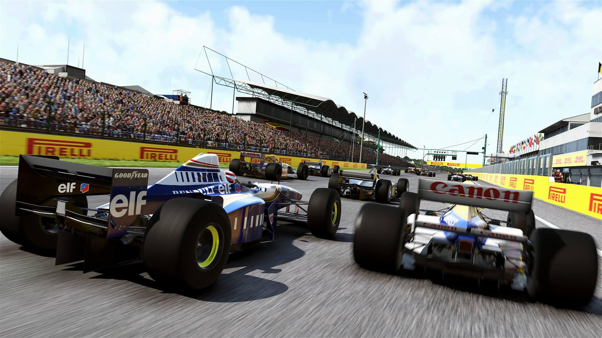 F1 2017 screenshot - classic F1 Williams
