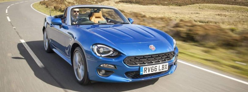 Fiat scrappage scheme offers include the 124 Spider