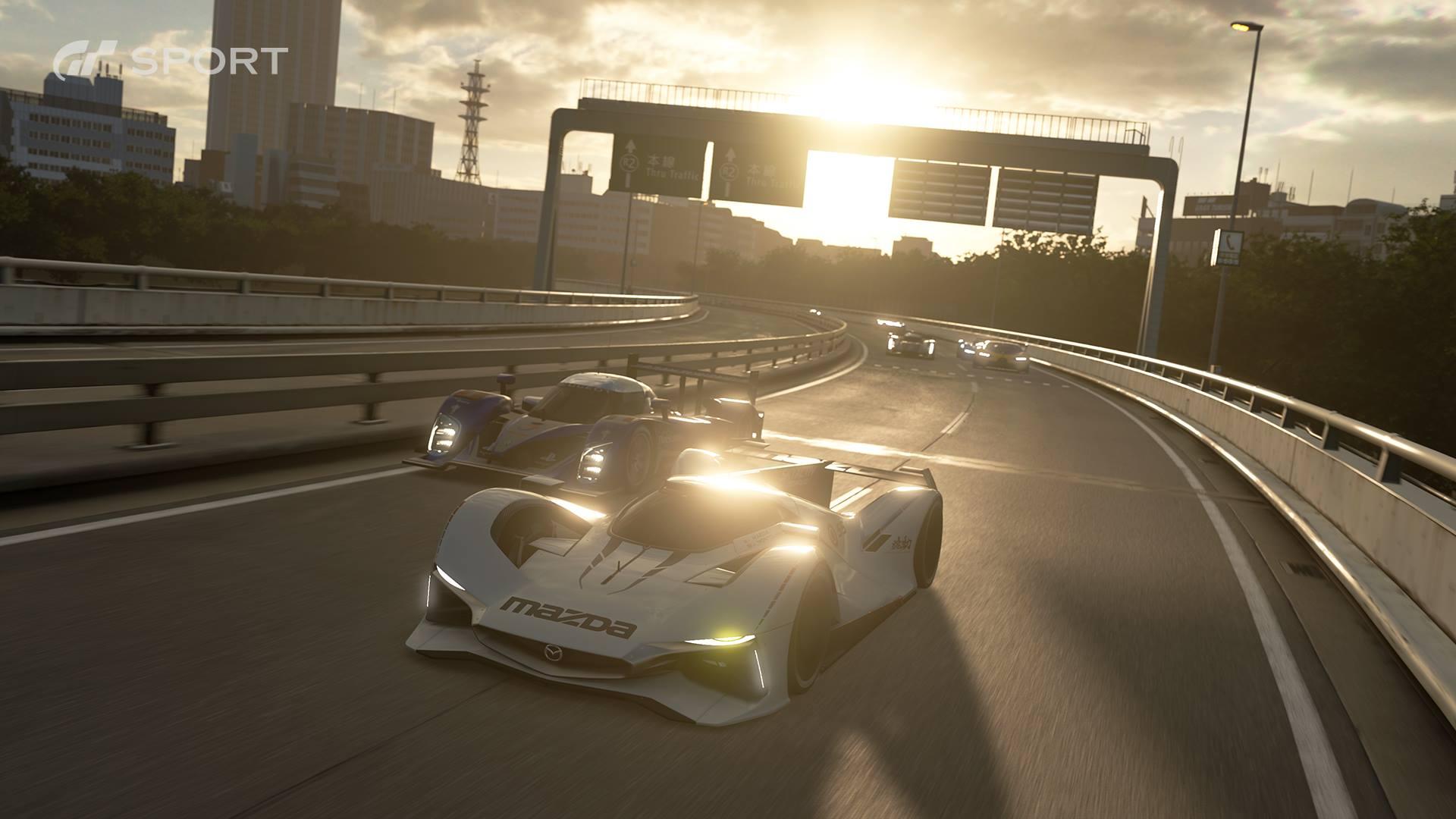 Gran Turismo Sport screenshot - Tokyo Expressway (The Car Expert driving games feature)