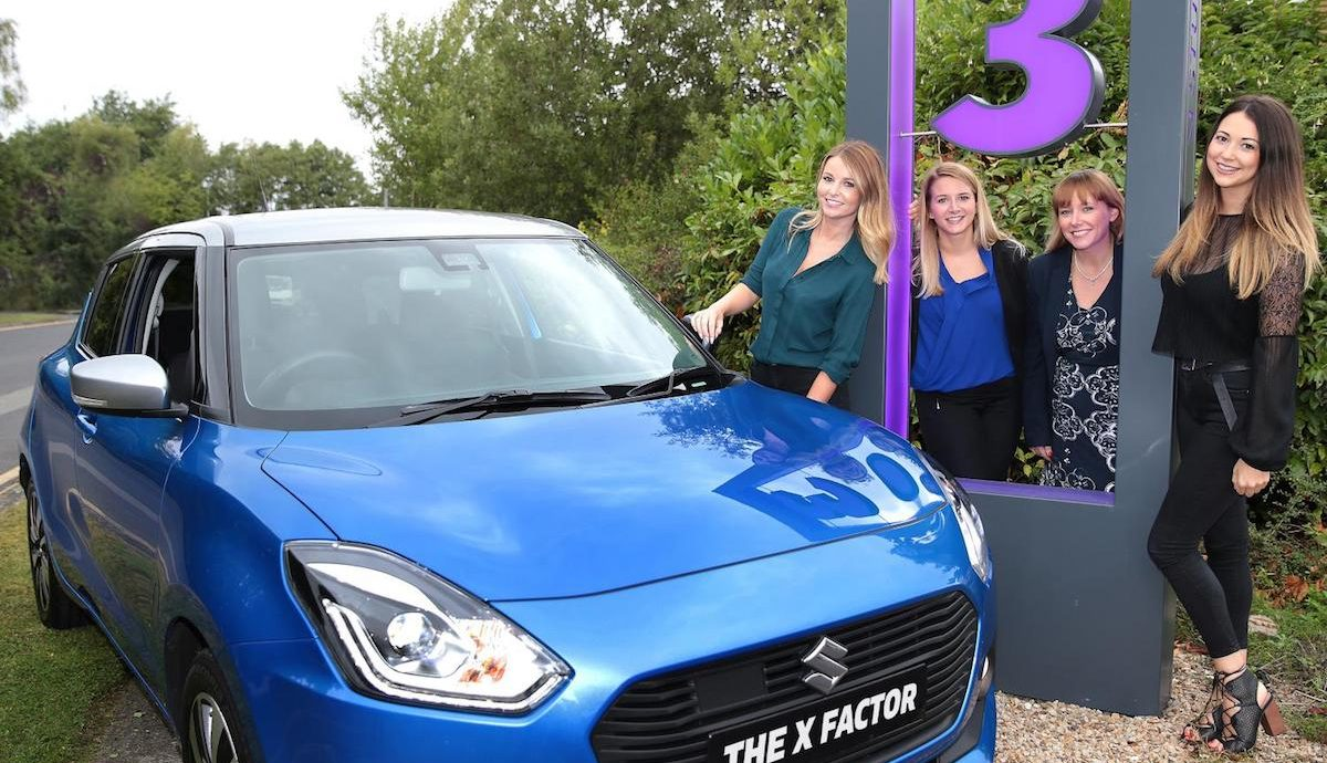Suzuki sponsors The X Factor on TV3 in Ireland
