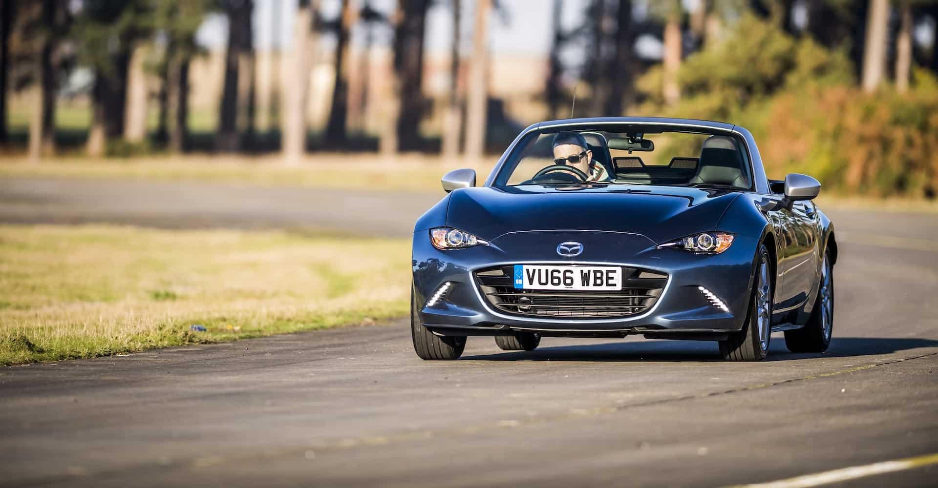 Sports cars under £50K | New car reviews | The Car Expert - Mazda MX-5