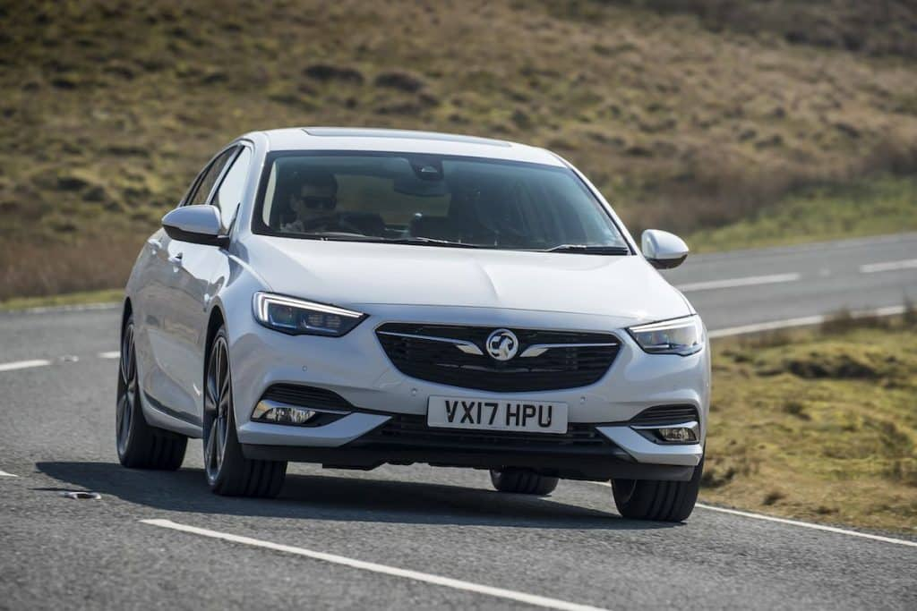 Vauxhall Insignia Grand Sport on the road   The Car Expert