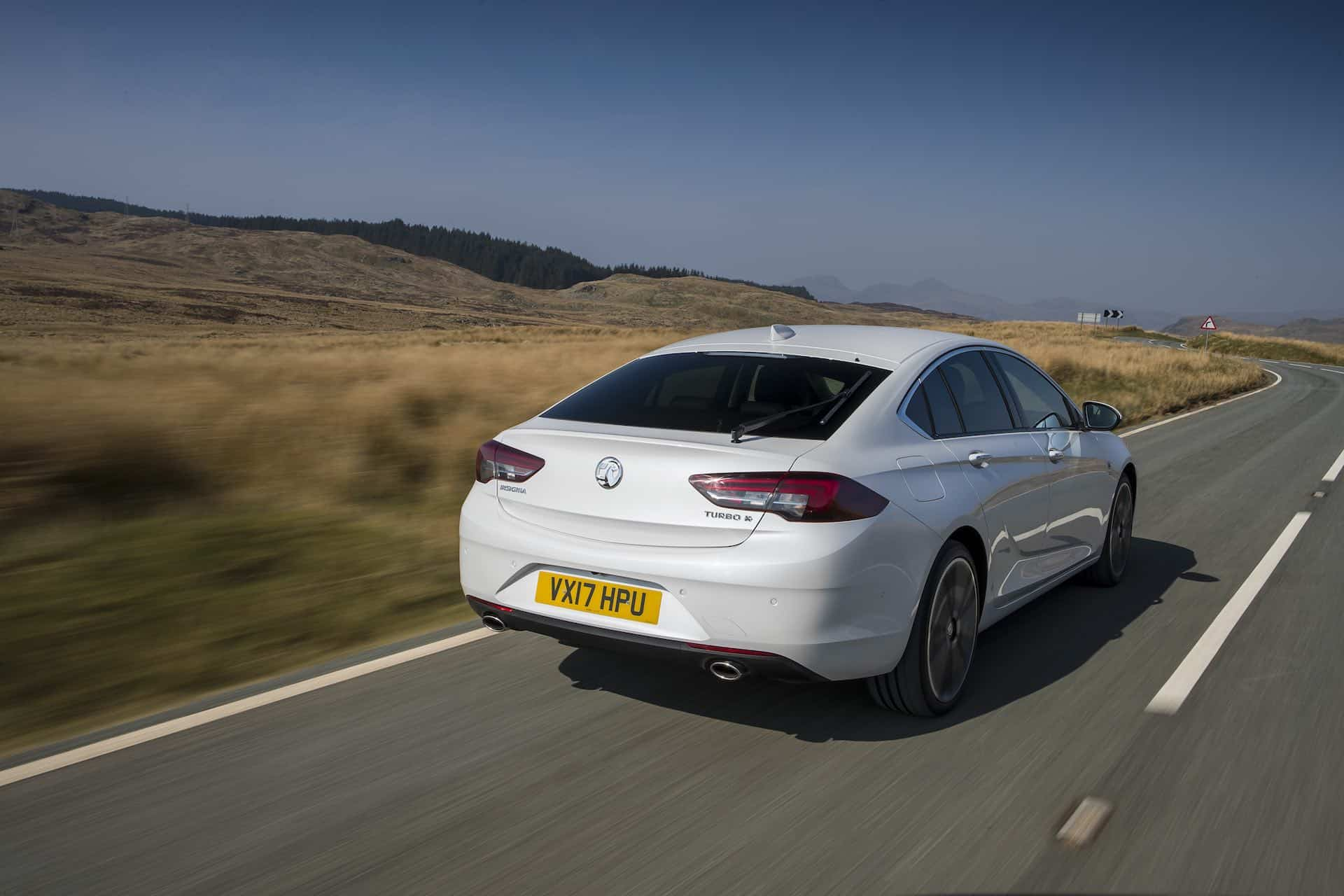 Vauxhall Insignia Grand Sport rear view | The Car Expert