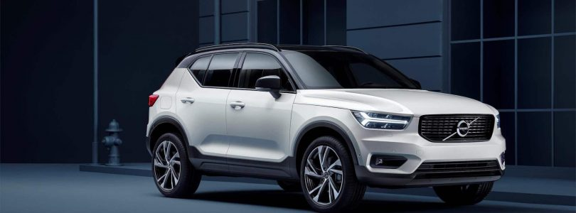 The new Volvo XC40 small crossover / SUV