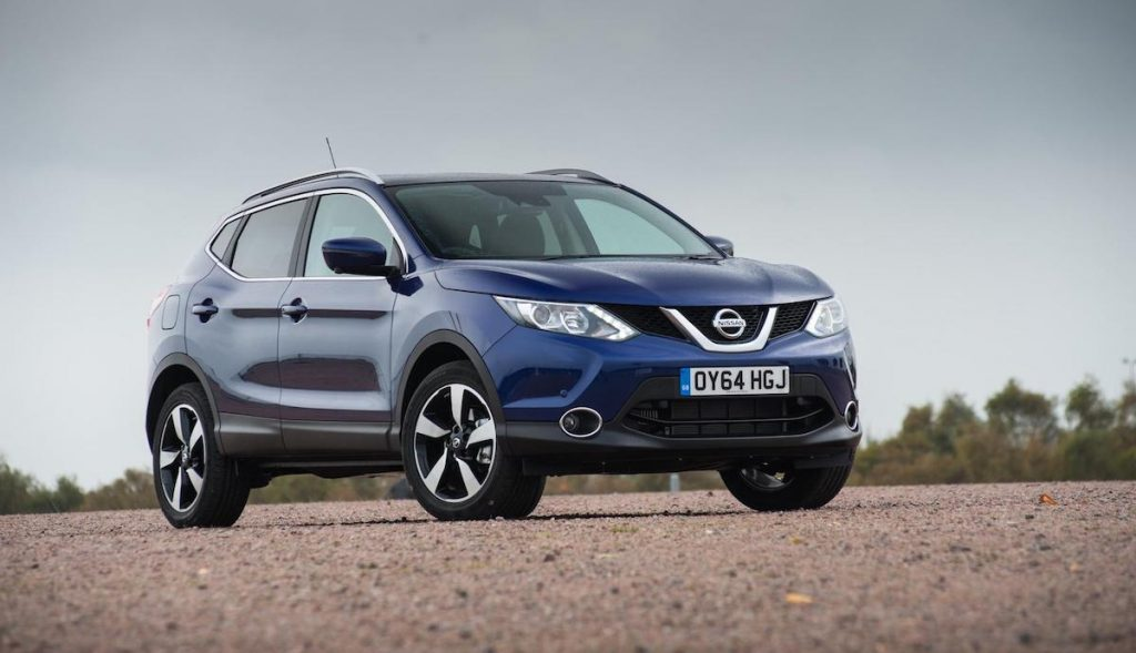 Nissan Qashqai (top ten safest used cars 2017)