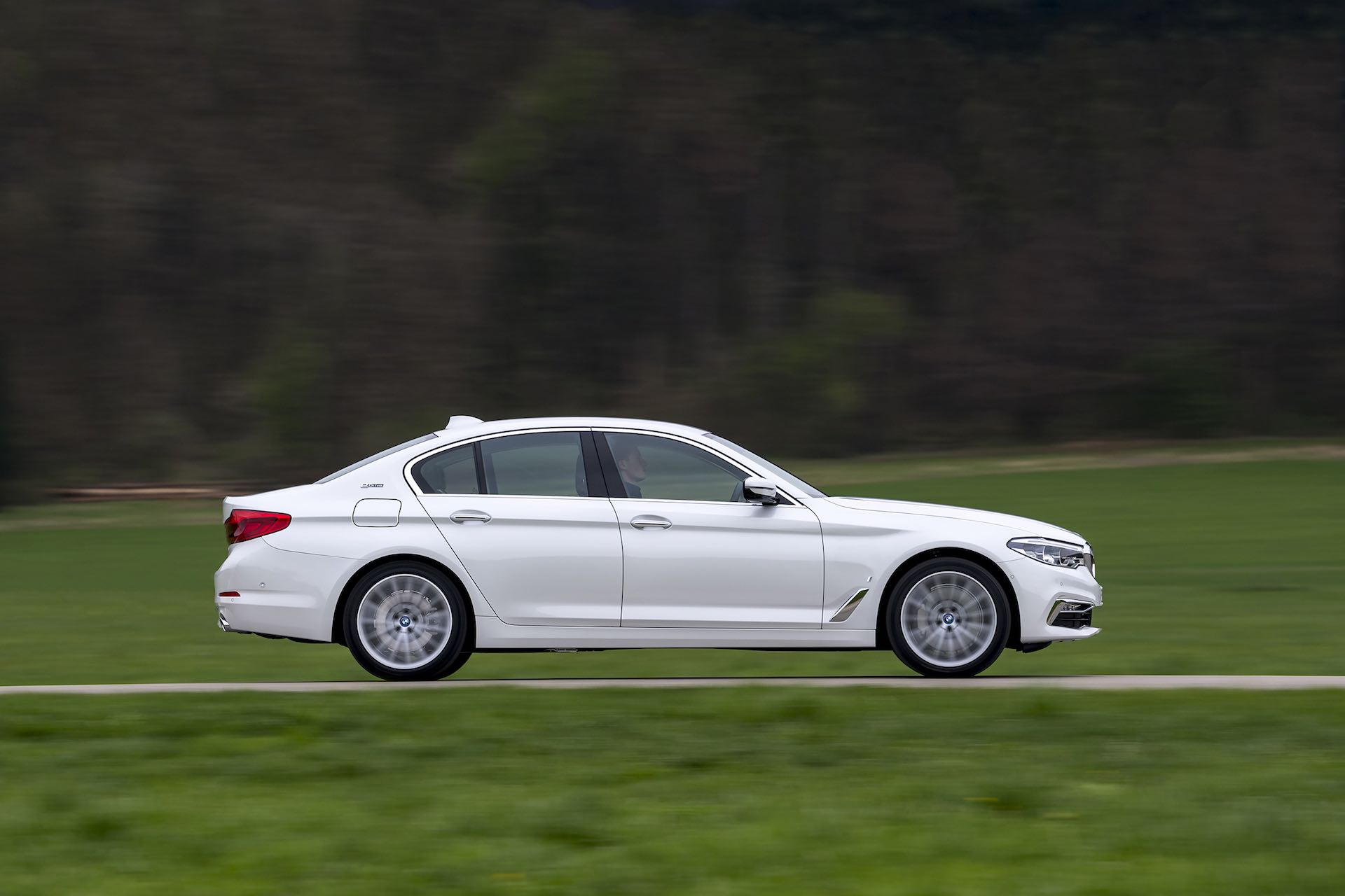 BMW 5 Series side profile   The Car Expert