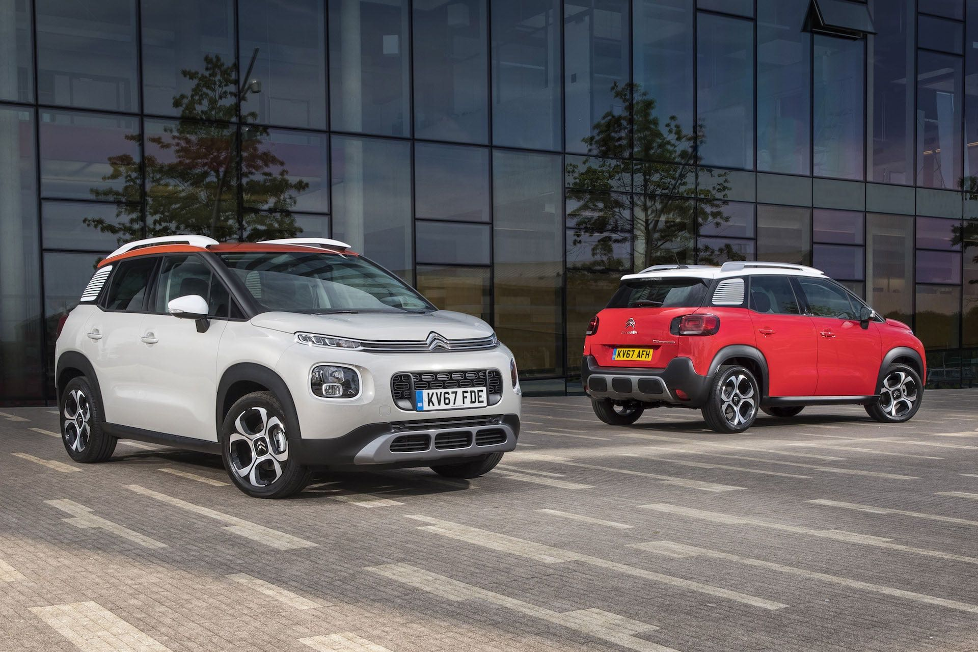 Citroen C3 Aircross - front and rear