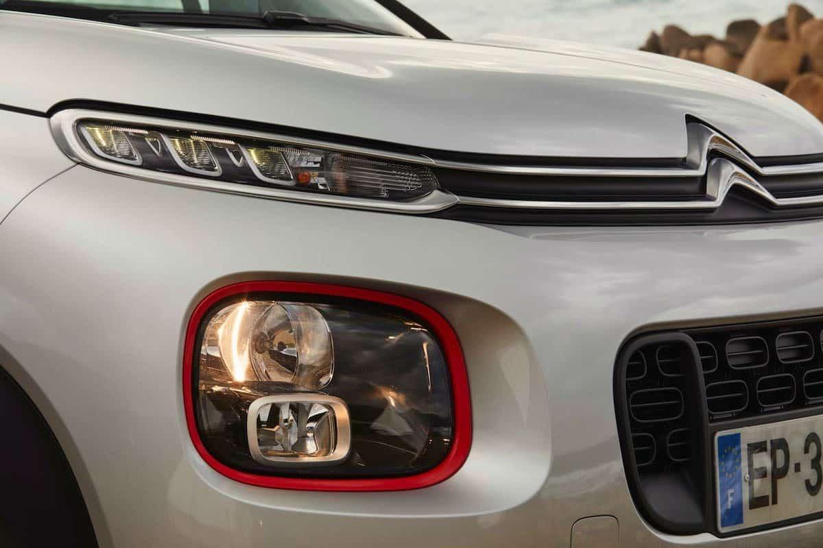 Citroen C3 Aircross headlight detail (The Car Expert)