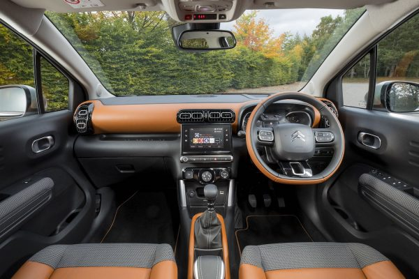 Citroen C3 Aircross dashboard (The Car Expert)