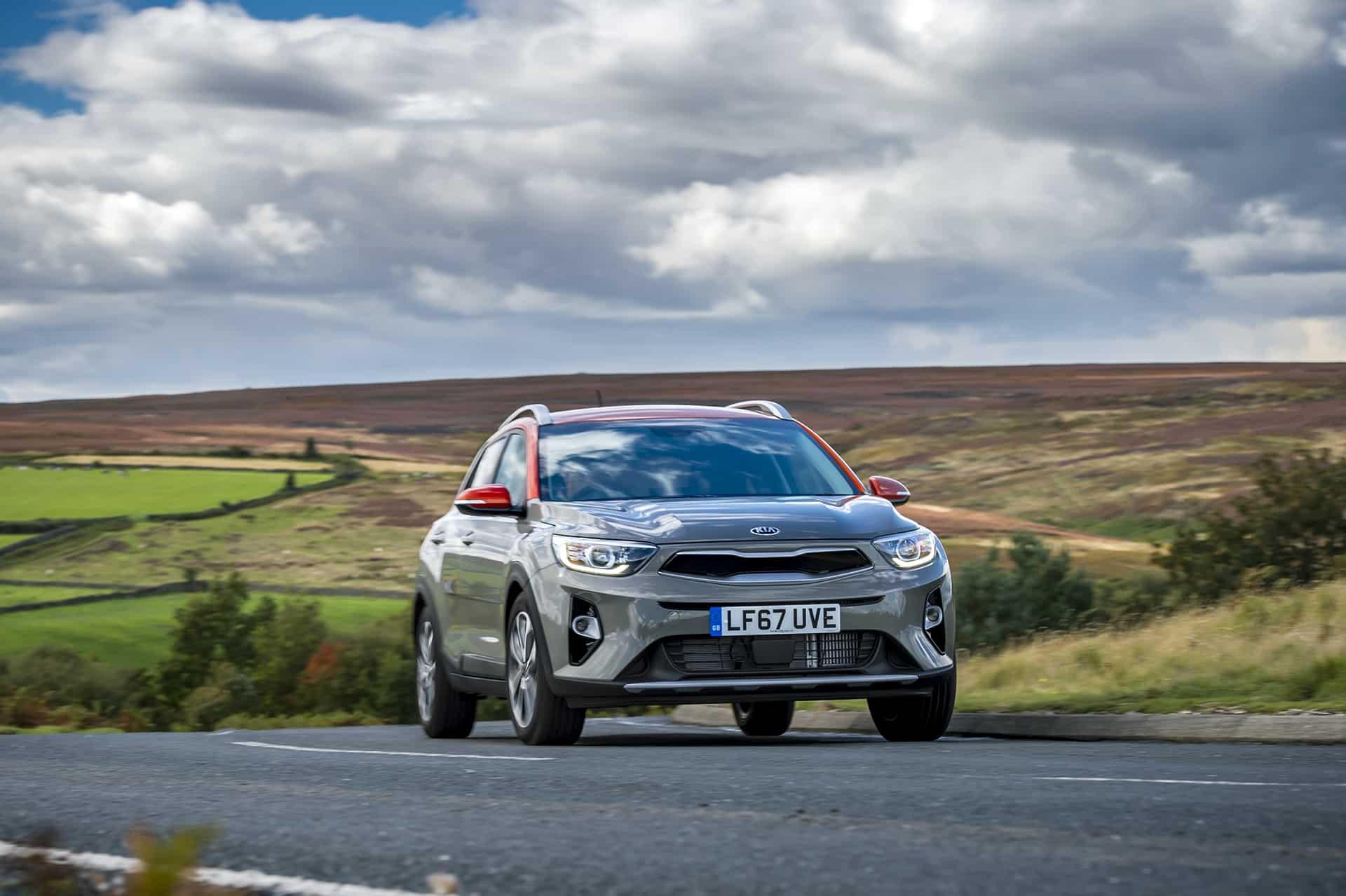 Kia Stonic on road (The Car Expert)