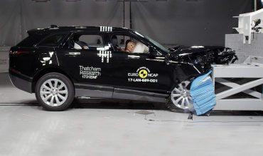 Range Rover Velar earns crash test praise