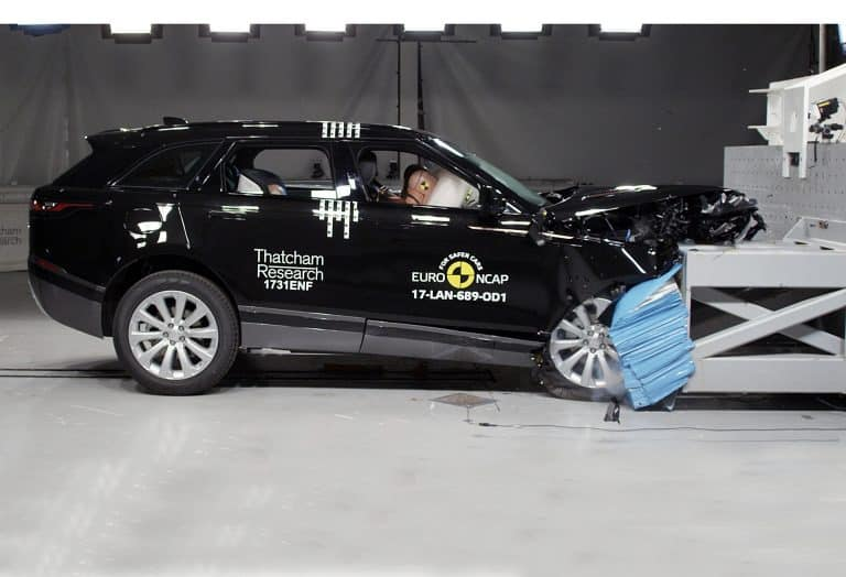 Range Rover Velar earns crash test praise