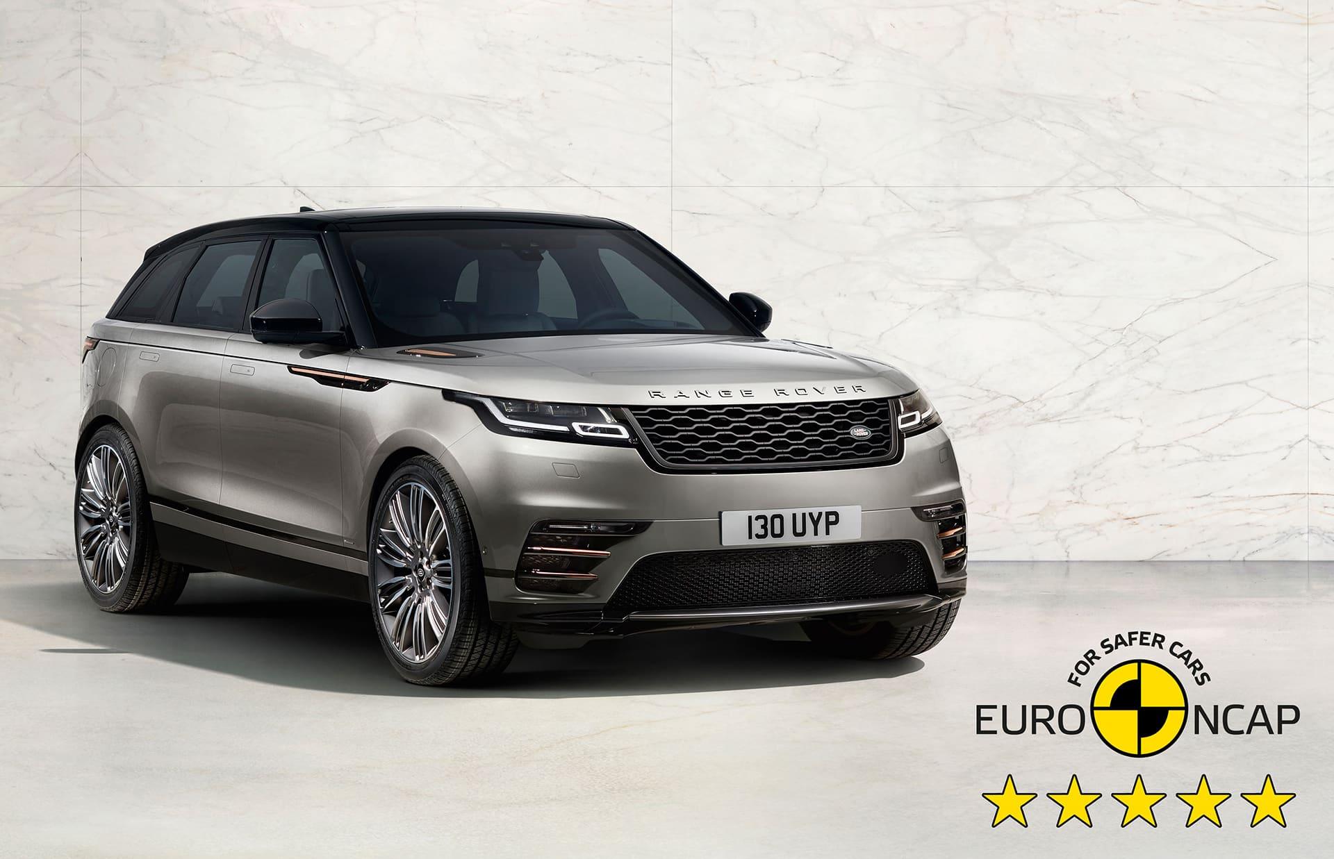 Range Rover Velar Euro NCAP