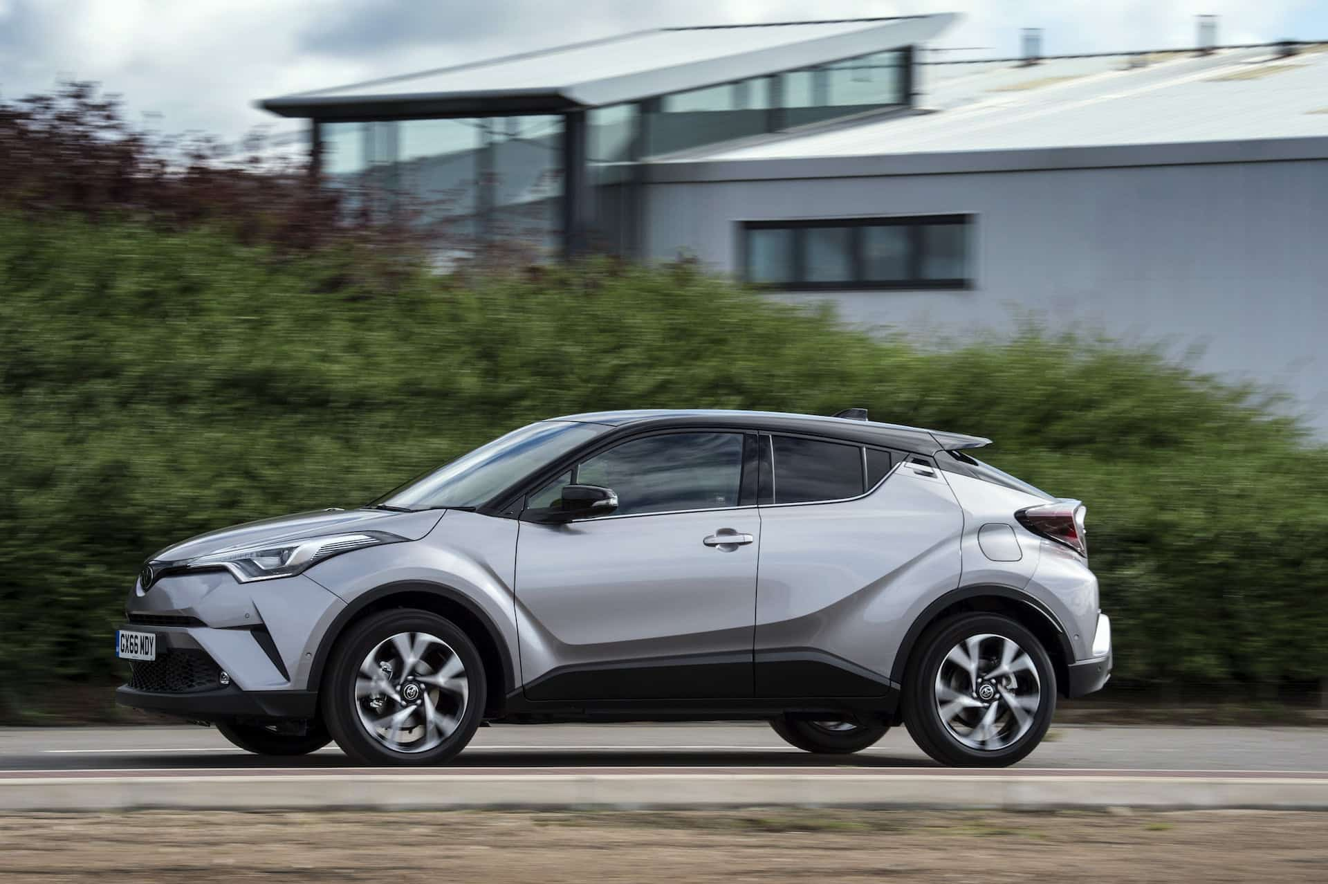 The Toyota C-HR exudes style amongst many more ordinary-looking rivals