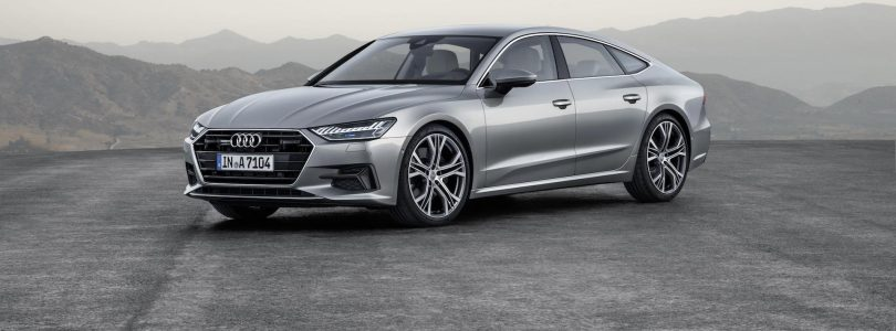Audi A7 Sportback unveiled, October 2017 (The Car Expert)