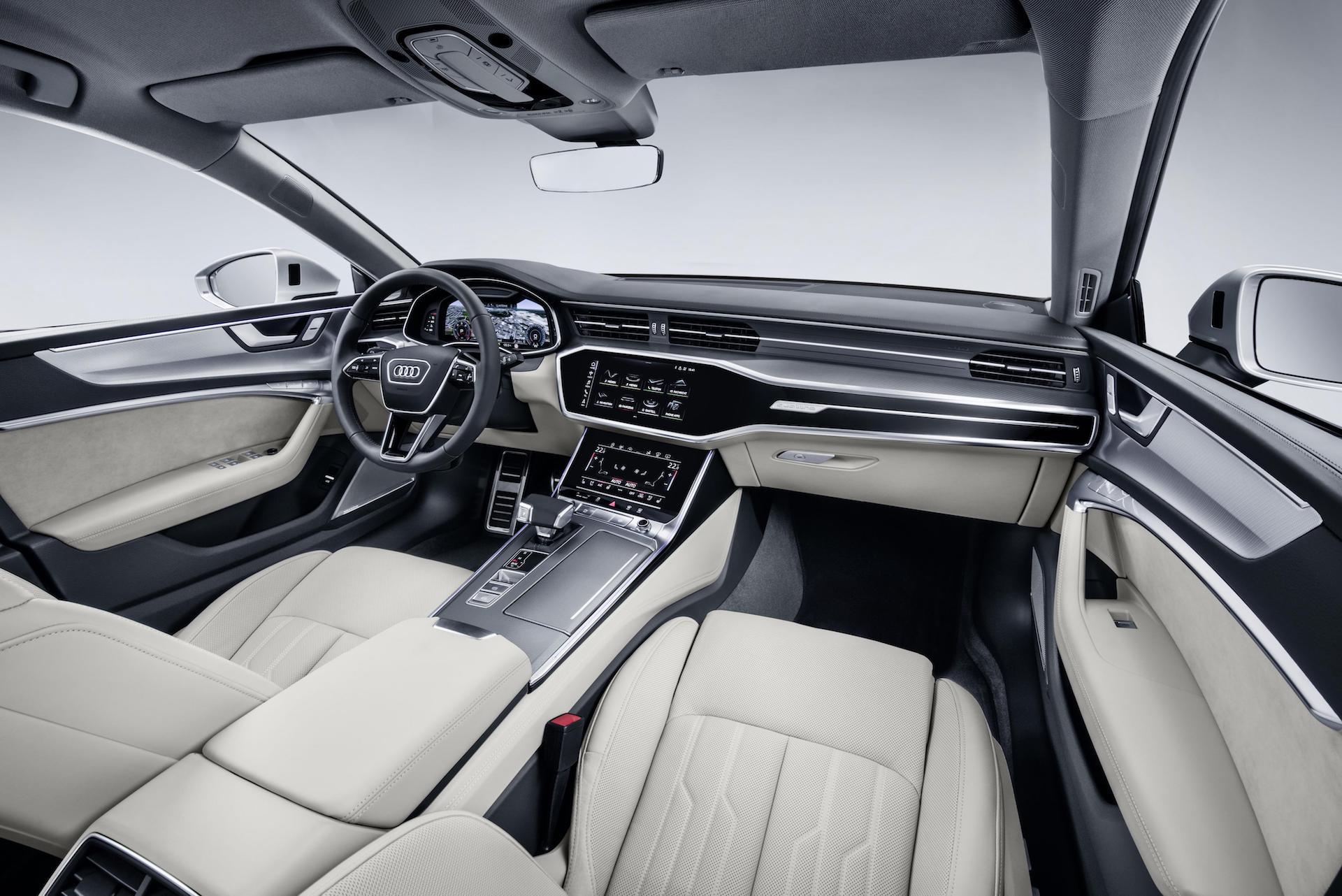 Audi A7 Sportback interior, October 2017