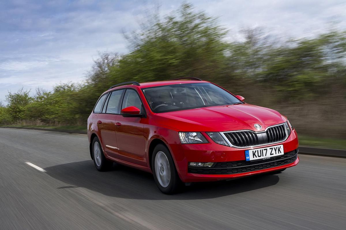 Skoda Octavia estate - finance offer for PCP customers