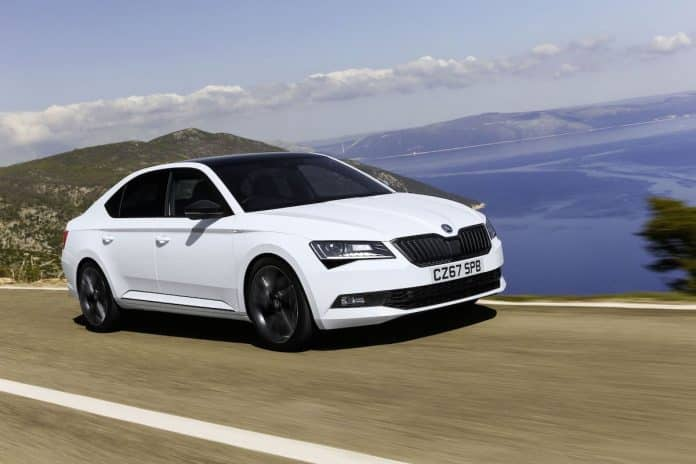 Skoda Superb - PCP offer with deposit contribution