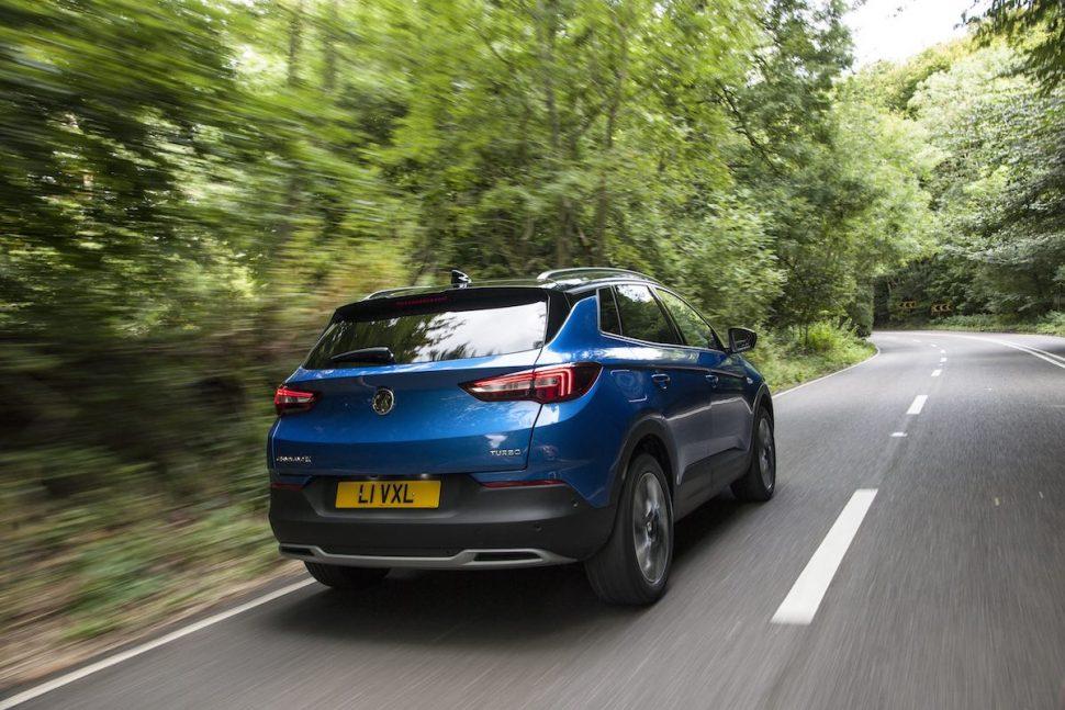 Vauxhall Grandland X - rear on-road