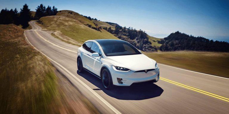 Tesla Model X test drive