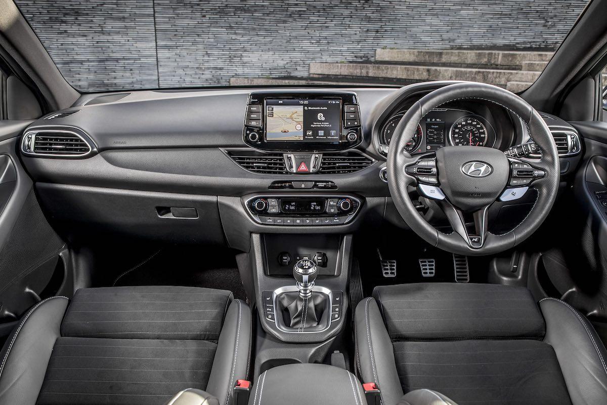 Hyundai i30 N dashboard (The Car Expert)