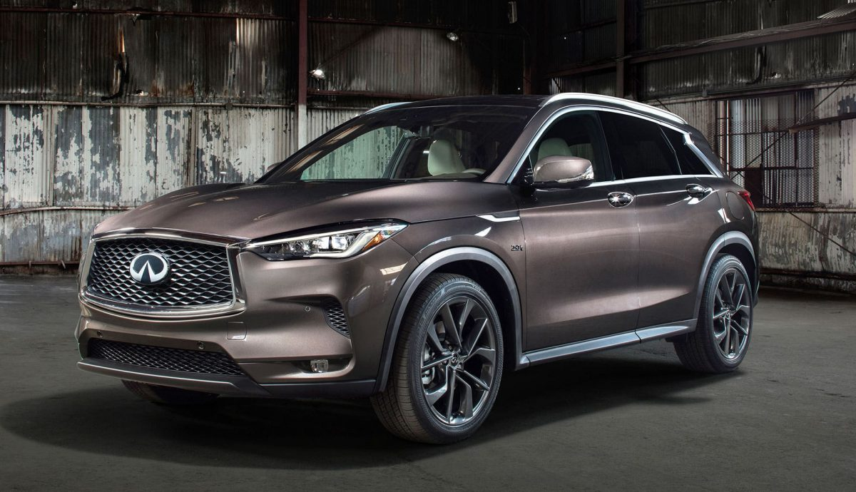 Infiniti QX50 revealed ahead of its debut next week