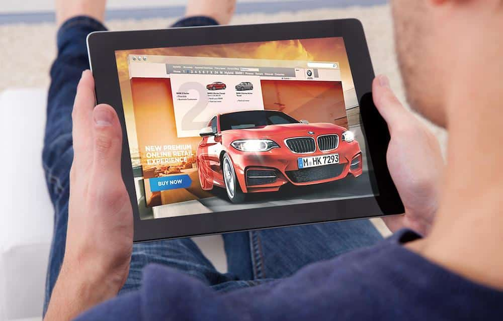 BMW retail online (The Car Expert)