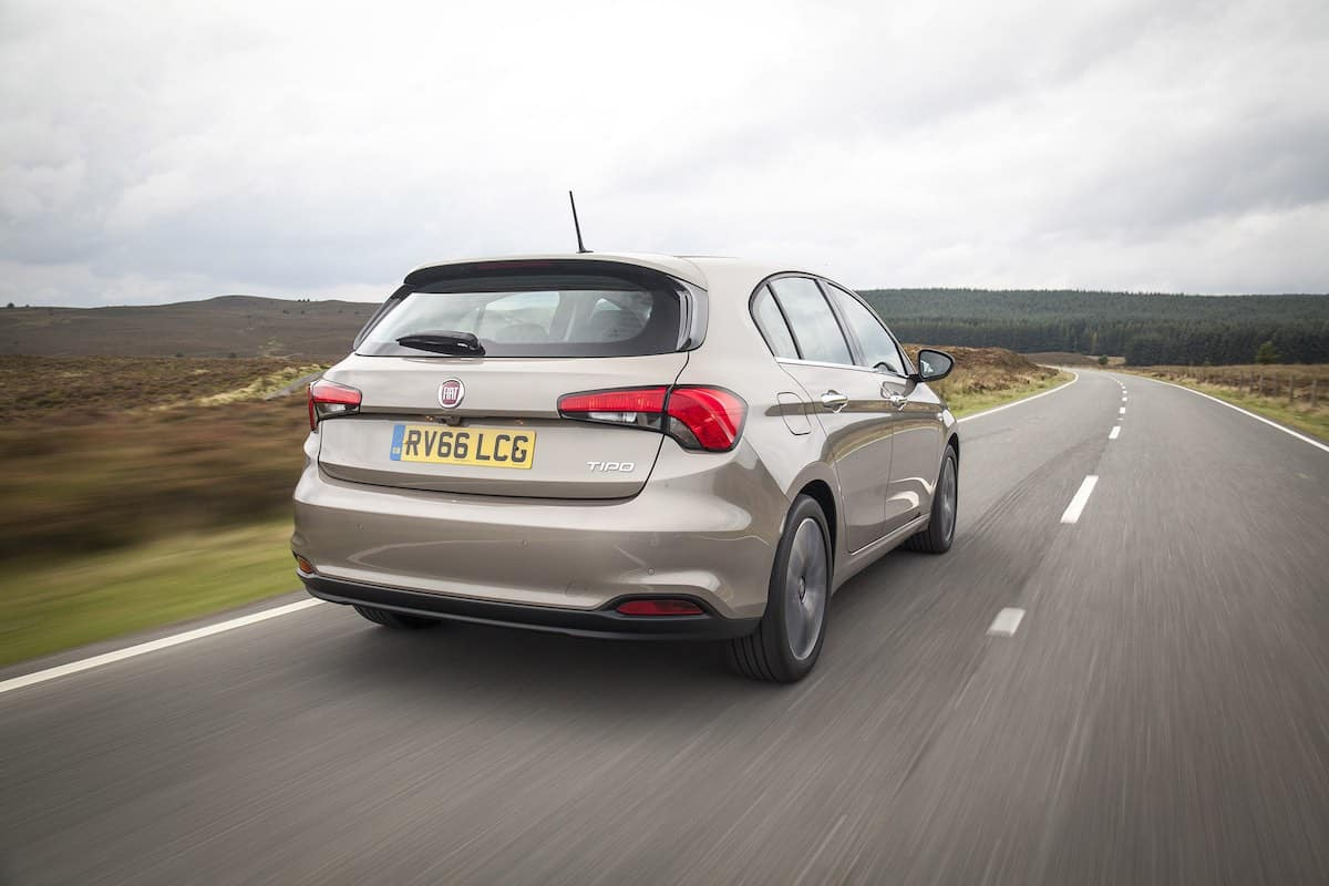 Fiat Tipo on the road (The Car Expert)