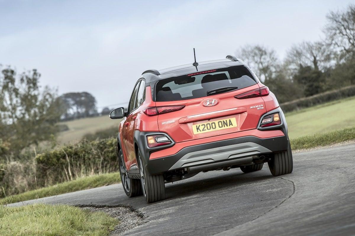 Hyundai Kona on the road (The Car Expert)