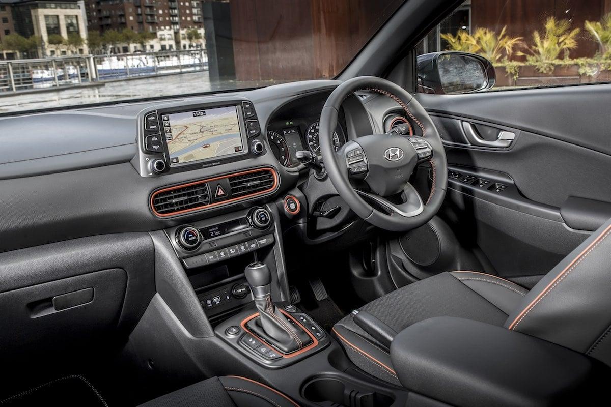 Hyundai Kona interior (The Car Expert review 2017)