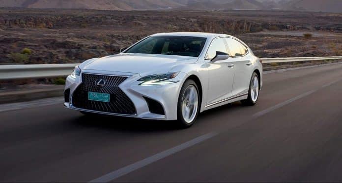 New Lexus LS 500h debuts high-tech safety 1