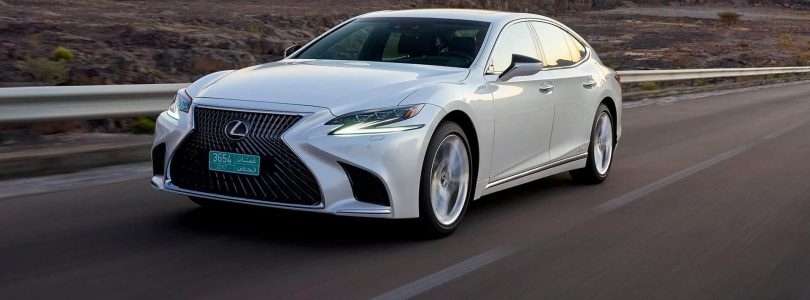 New Lexus LS 500h debuts high-tech safety