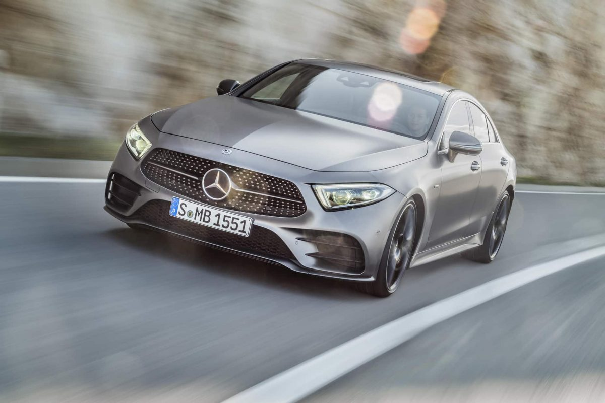 New 2018 Mercedes CLS - prices start at £57510