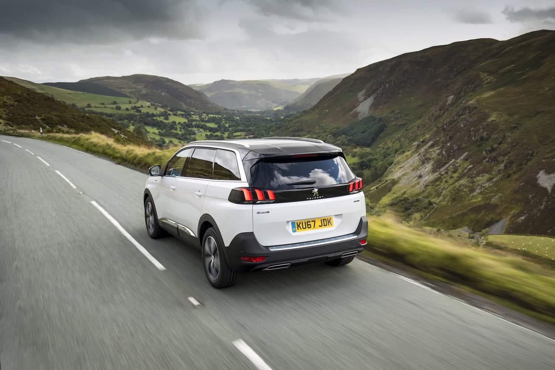 Peugeot 5008 (2017-2020) - rear view