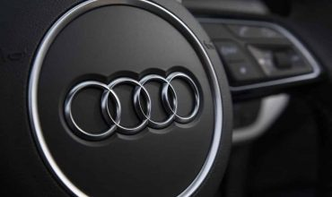 Audi logo steering wheel