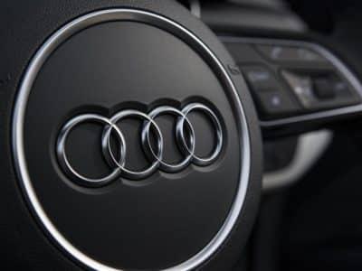 Audi-steering-wheel-logo
