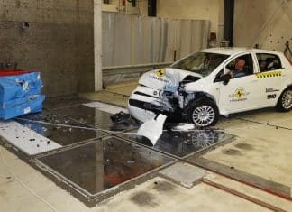 Fiat Punto scores zero stars in Euro NCAP crash tests