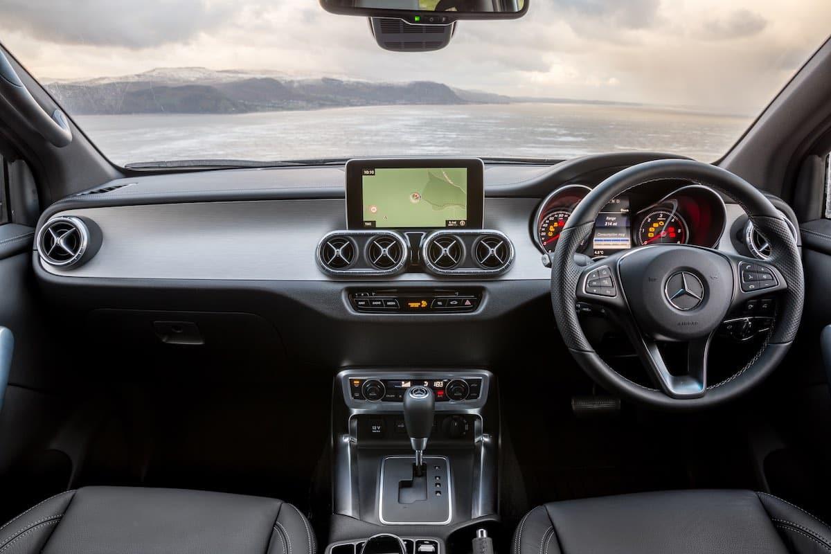 Mercedes-Benz X-Class dashboard (The Car Expert)