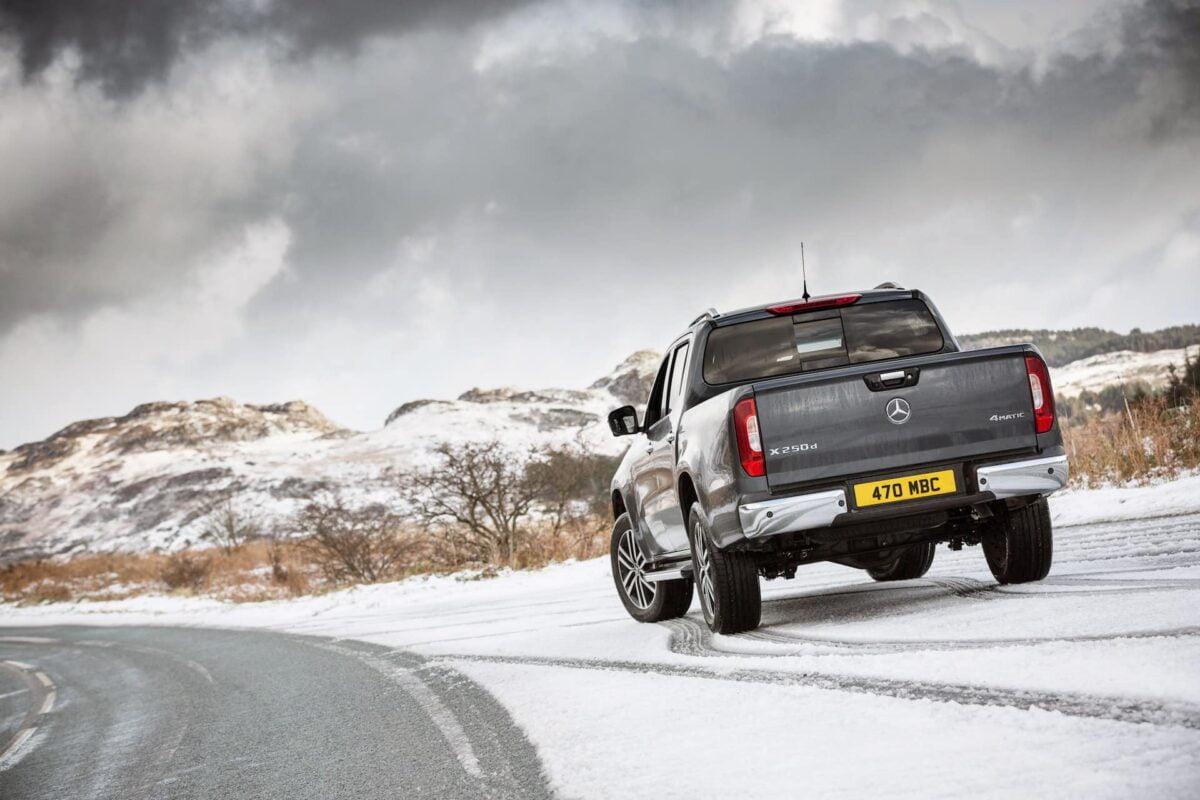 Mercedes-Benz X-Class in the snow   The Car Expert