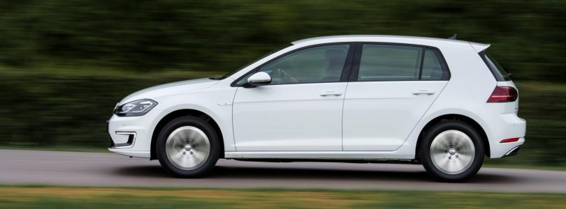 Volkswagen e-Golf available with a £4,000 scrappage allowance