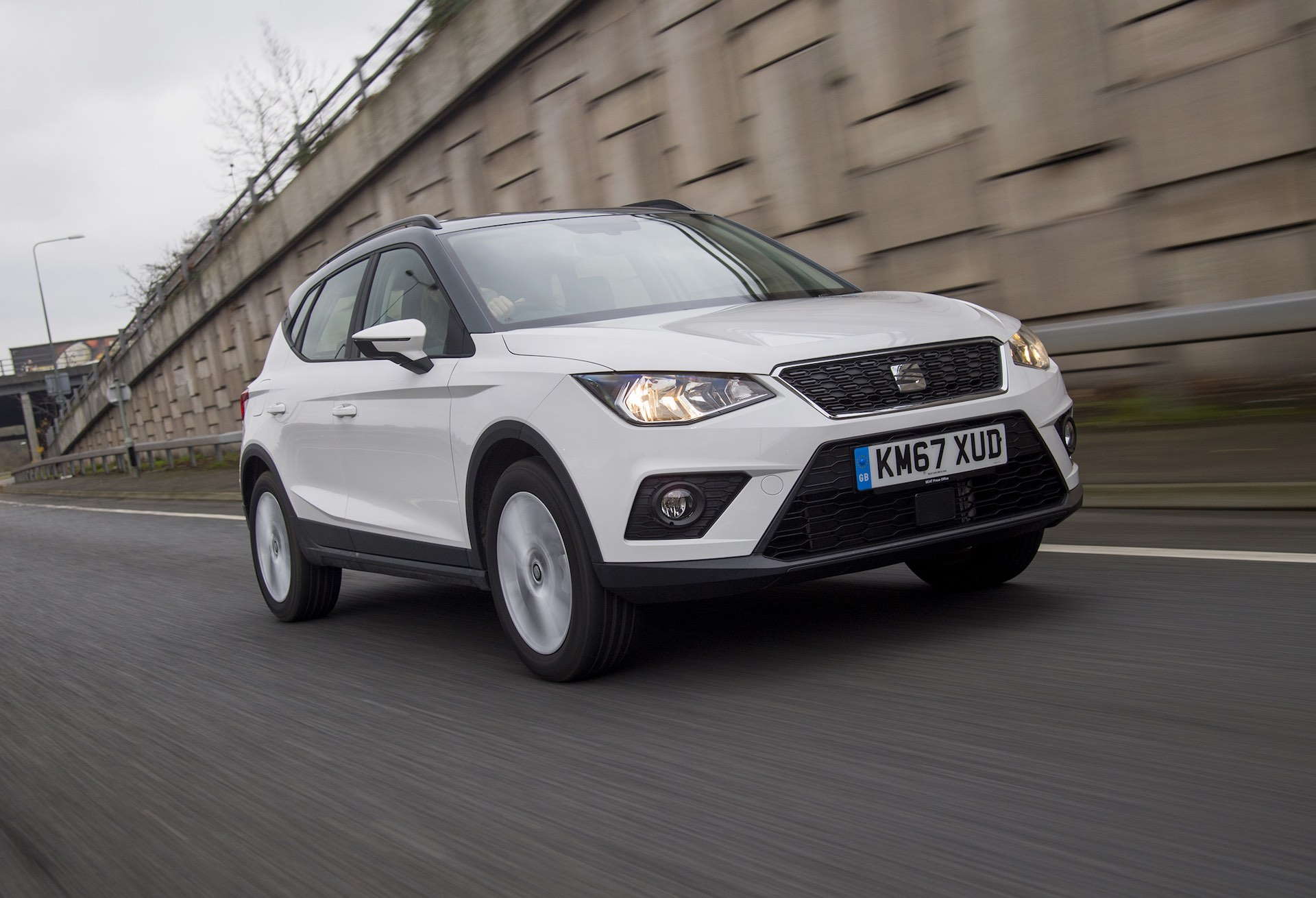 SEAT Arona road test 2018 (The Car Expert)
