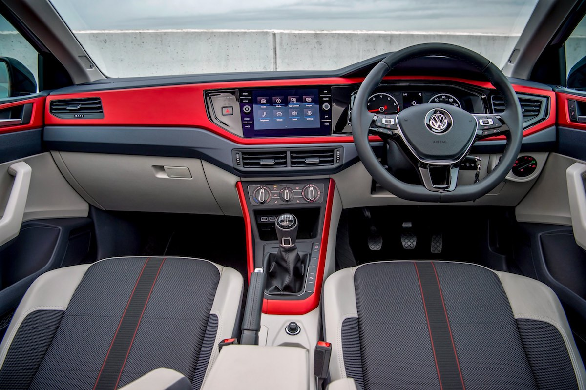 Volkswagen Polo dashboard (The Car Expert 2018)