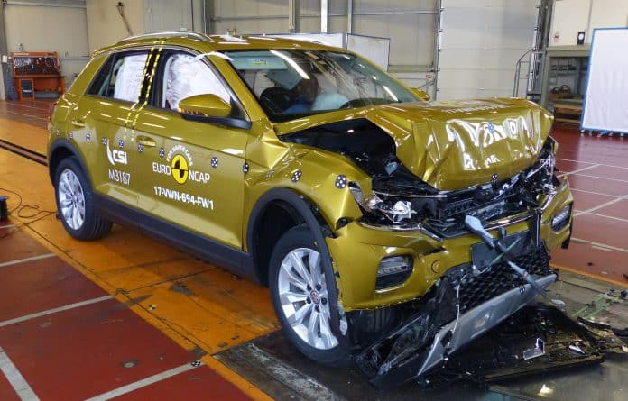 Volkswagen tops the crash-test 'Oscars' 1