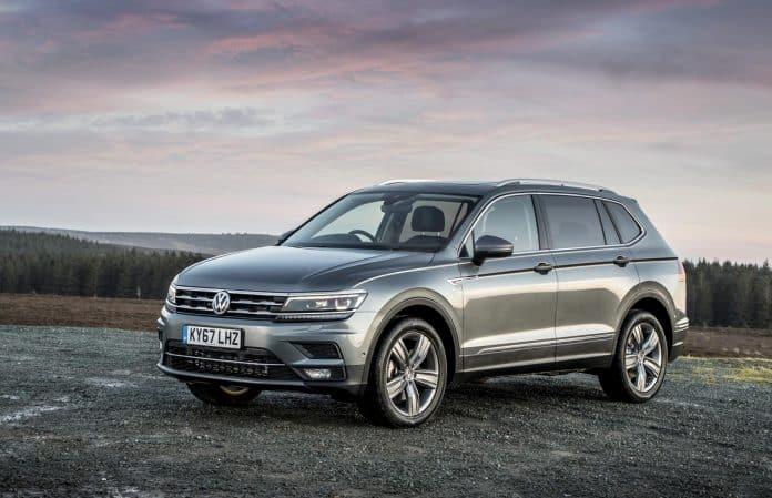 Seven-seat Volkswagen Tiguan Allspace on sale 1