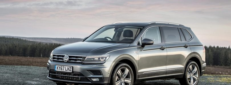 Seven-seat Volkswagen Tiguan Allspace on sale